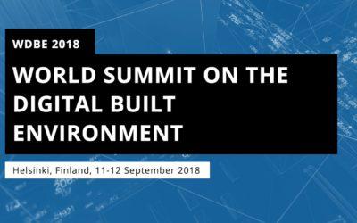 World Summit on Digital Built Environment WDBE 2018