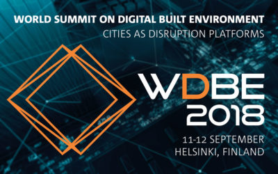 Present at World Summit on Digital Built Environment WDBE 2018