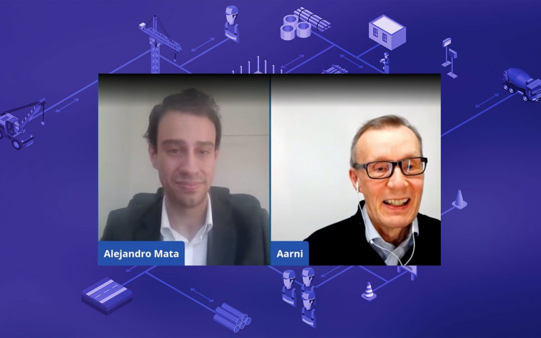 Alejandro Mata Interviewed Aarni on LinkedIn Live